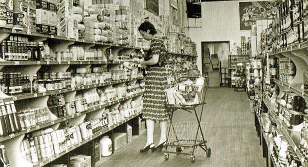 shopping cart 1930 design store
